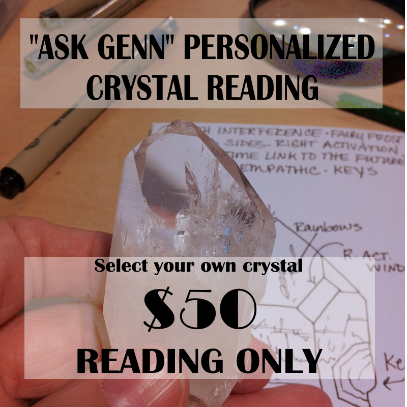 (1) ASK GENN CRYSTAL READING ONLY