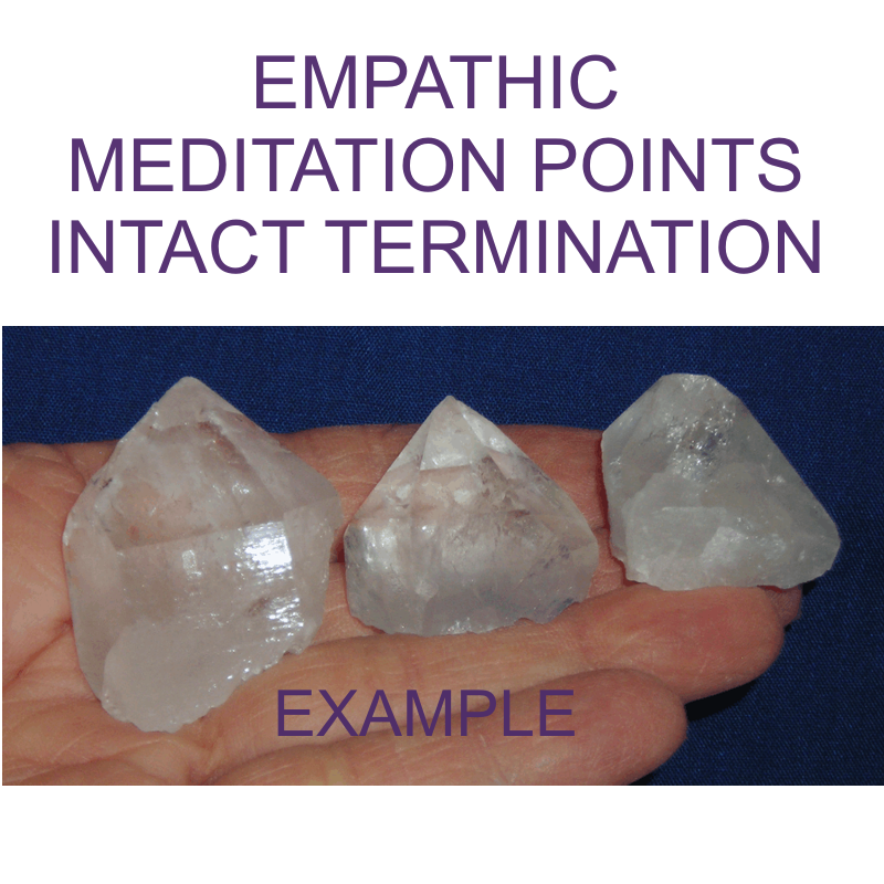 Crystal Points - EMPATHIC, PARTIAL TERMINATION