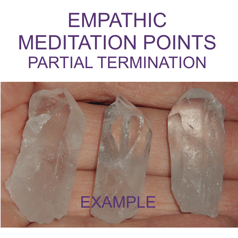 Crystal Points - EMPATHIC, PARTIAL