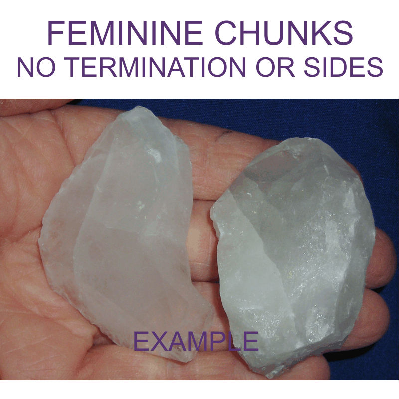 Feminine - Crystal Chunk