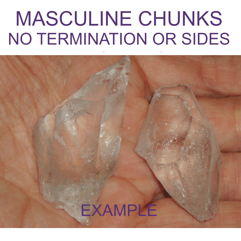 Masculine - Crystal Chunk