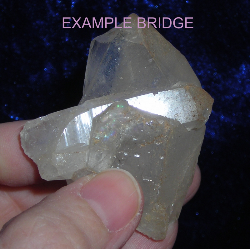 Bridge Quartz Crystal