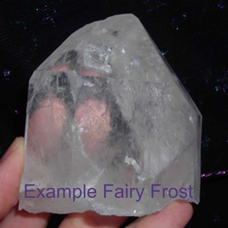 Fairy Frost Quartz Crystal