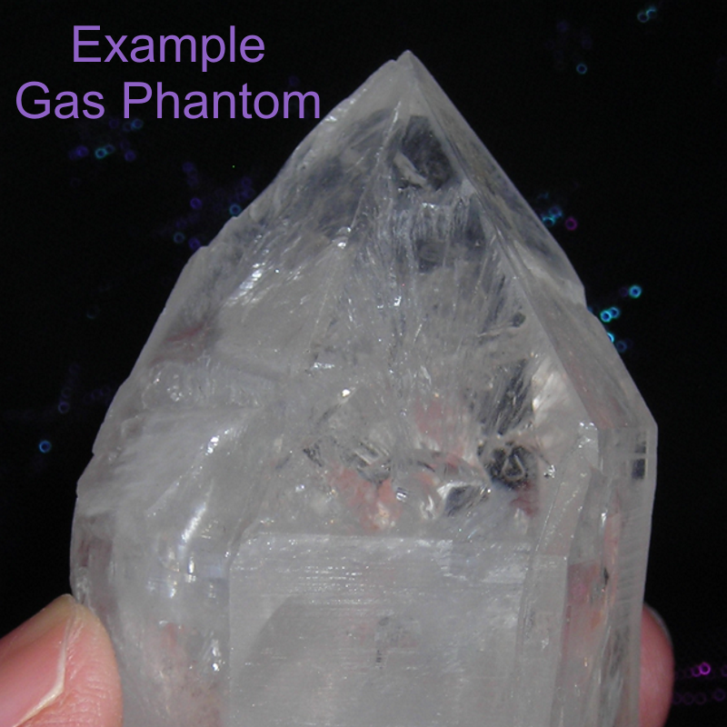 Gas Phantom Quartz Crystal