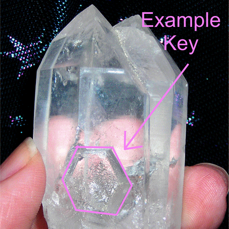 Key Quartz Crystal