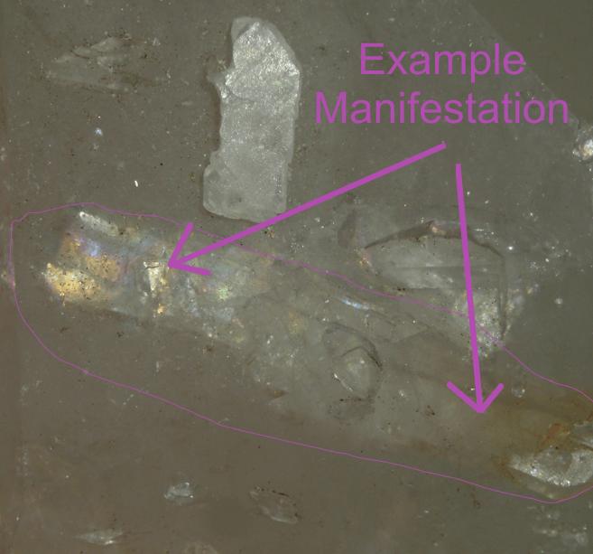Manifestation Quartz Crystal