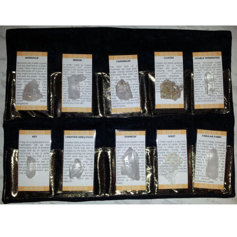 Deluxe Crystal Healing Kit