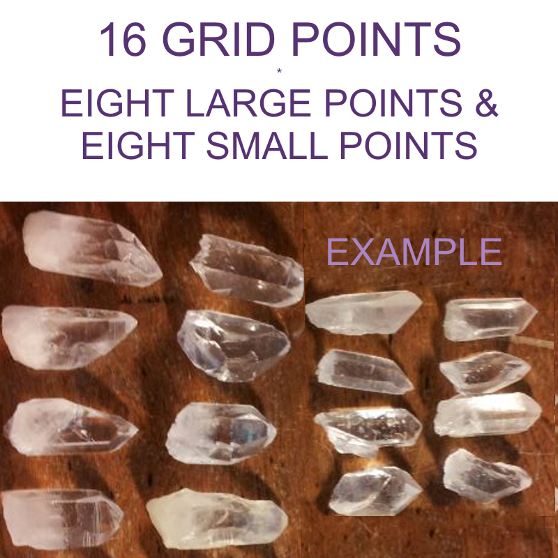 Crystal Points for Grid Making - 16