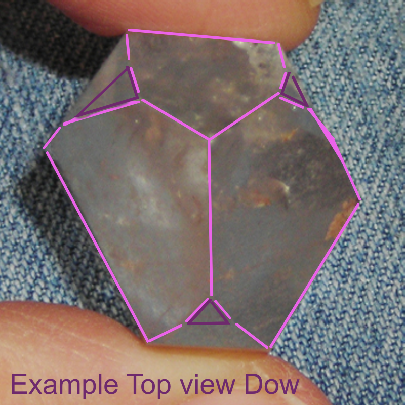 Dow (Trans-Channeler) Quartz Crystal