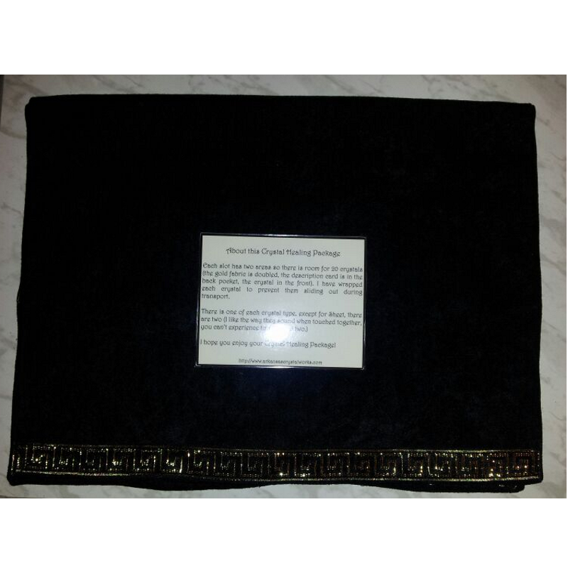 Deluxe Crystal Carrying Case