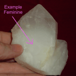 feminine or milky crystal