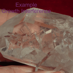 growth interference crystal