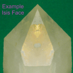 five-sided face, Isis crystal