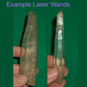 laser wand crystal