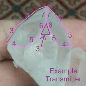 transmitter crystal