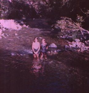 Genn John and sister, Renee