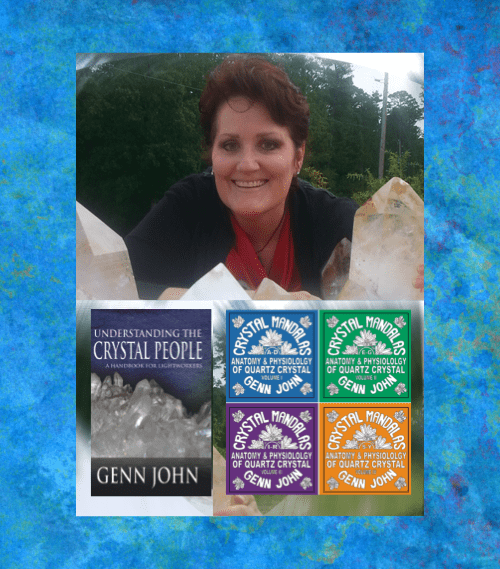 crystal books by Genn John - Arkansas Crystal Works