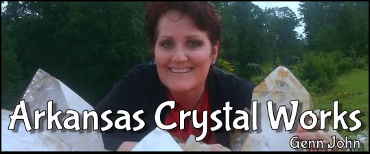 image Arkansas Crystal Works - Genn John buying quartz crystal