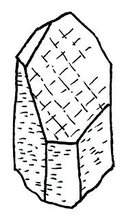 Etched Quartz Crystal