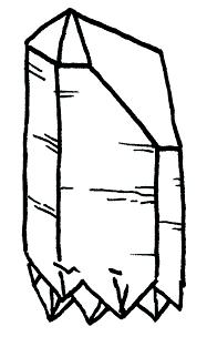 Extra Terrestrial Quartz Crystal