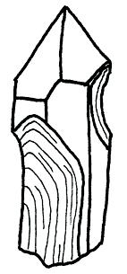 Imprint Quartz Crystal