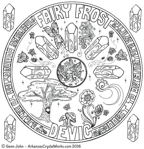Fairy Frost Quartz Crystal
