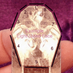 eight sided face or grounding crystal