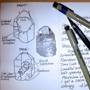 image Ask Genn crystal reading