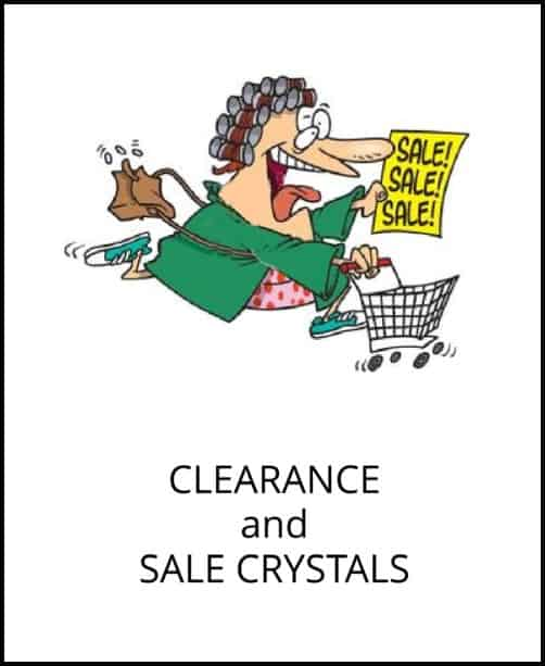 image: shop clearance and sales at Arkansas Crystal Works