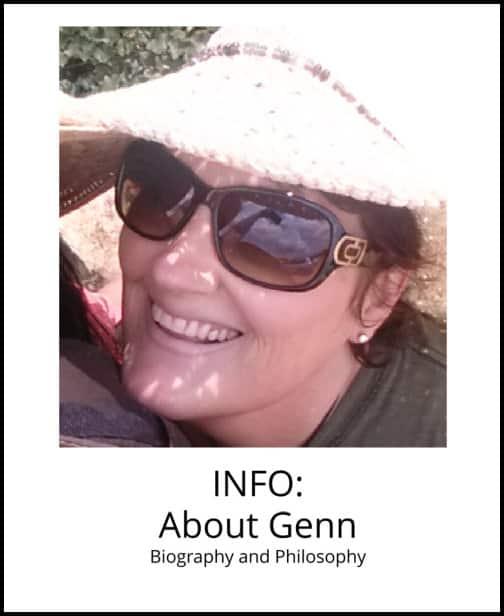 image: information about Genn John and Arkansas Crystal Works