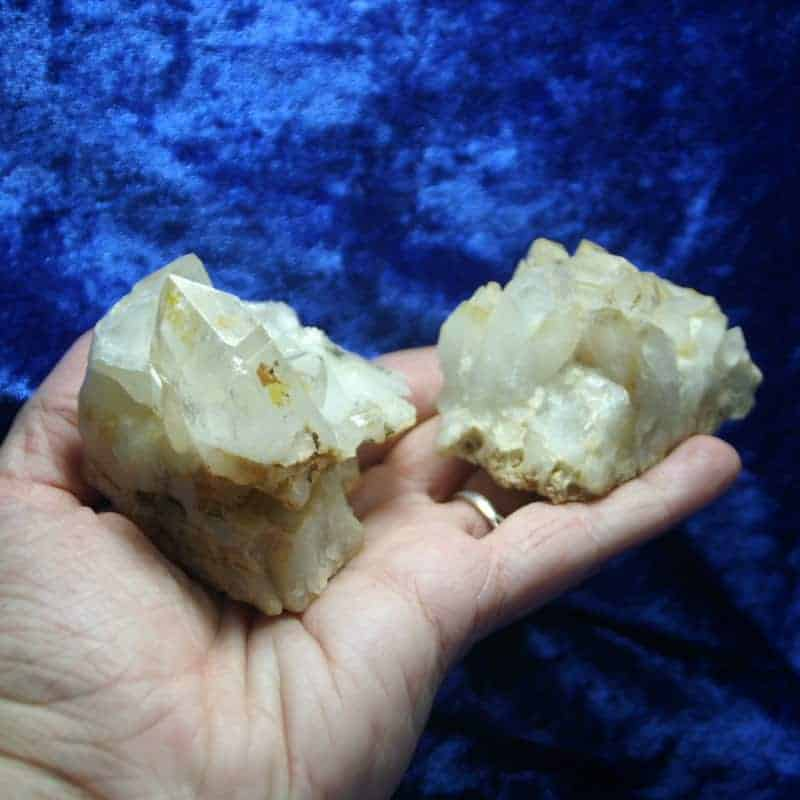 Quartz Crystal Cluster 00141