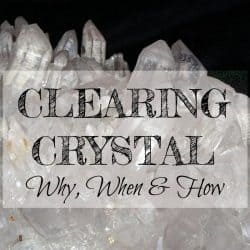 how to clear crystal