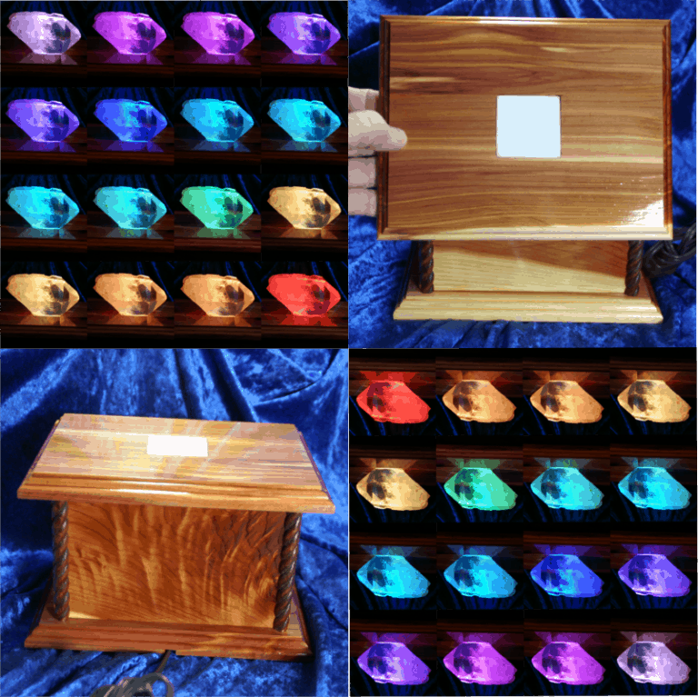image lighted crystal display boxes