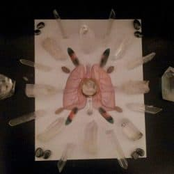 image crystal grid for healing