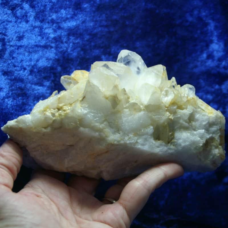 Quartz Crystal Cluster 0000157