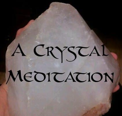 image a crystal meditation