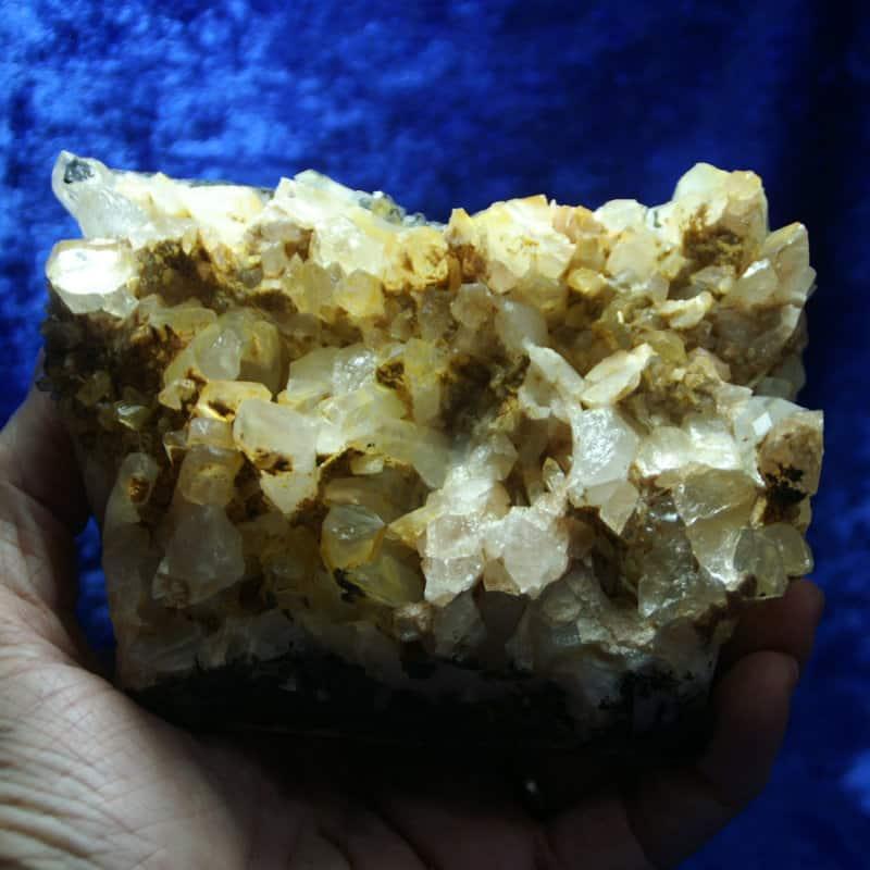 Quartz Crystal Cluster 00182