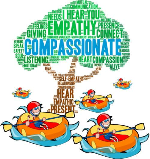 navigate with compassion