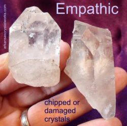 Empathic crystals blog post