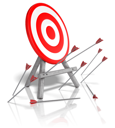 Law of Attraction missing target